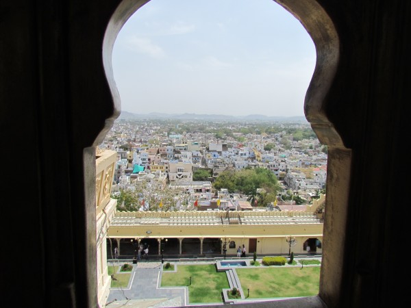 Udaipur City Palace view