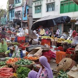Udaipur market vege