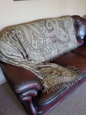 Brown Sofa Throw